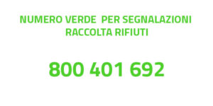 800 401 692 Numero Verde